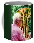 Man Playing Tuba Coffee Mug