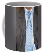Man Wearing A Suit And Tie Coffee Mug