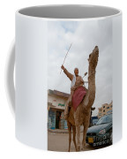 Man With His Camel Coffee Mug