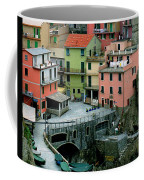 Manarola Houses On The Cinque Terre II Coffee Mug