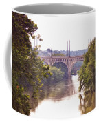 Manayunk Bridge Along The Schuylkill River Coffee Mug