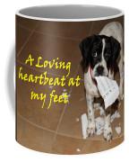 Mancha - A Loving Heartbeat Coffee Mug