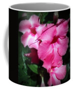 Mandevilla Pink Flowers  Coffee Mug