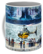 Manhattan Heliport Coffee Mug