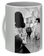 Mannequins At Peggy Sues 50's Diner Coffee Mug