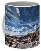 Manorbier Rocks Big Sky Coffee Mug