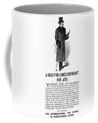 Mans Overcoat, 1888 Coffee Mug