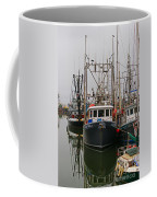 Many Fish Boats Coffee Mug