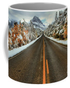 Many Glacier Road Coffee Mug
