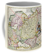 Map Of Asia Minor Coffee Mug