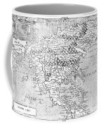 Map Of New France, 1566 Coffee Mug