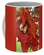 Maple Leaves And Seeds Coffee Mug
