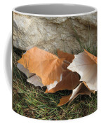 Maple Leaves Contrasted Coffee Mug
