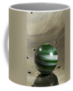 Marble Green Onion Skin 5 Coffee Mug