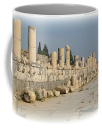 Marble Street In Ephesus Coffee Mug