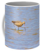 Marbled Godwit Searching For Food Coffee Mug