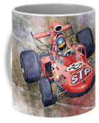 March 711 Ford Ronnie Peterson Gp Italia 1971 Coffee Mug