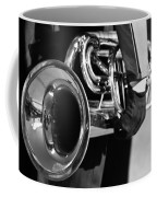 Marching Band Horn Bw Coffee Mug