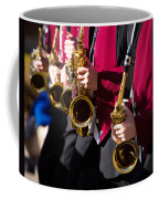 Marching Band Saxophones Cropped Coffee Mug