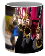 Marching Band Saxophones  Coffee Mug