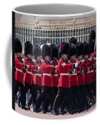 Marching In Red And Black Coffee Mug