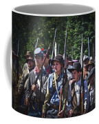 Marching In To Town Coffee Mug