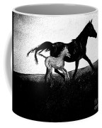 Mare And Foal Coffee Mug