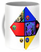 Marilyn De Stijl Coffee Mug