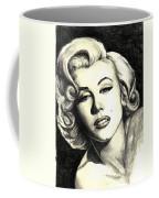 Marilyn Monroe Coffee Mug by Debbie DeWitt