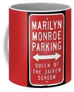 Marilyn Monroe Parking Coffee Mug