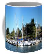 Marina At Cascade Locks Coffee Mug