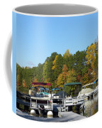 Marina In Fall Coffee Mug