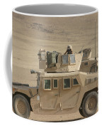 Marine Looks For Suspicious Activity Coffee Mug
