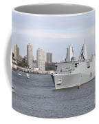 Marines And Sailors Man The Rails Coffee Mug