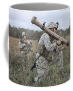 Marines Conduct A Simulated Attack Coffee Mug by Stocktrek Images