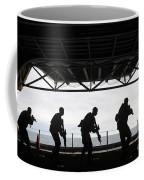 Marines Conduct Rifle Movement Drills Coffee Mug