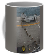 Marines Embark A Ch-46e Sea Stallion Coffee Mug