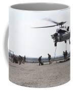 Marines Fast-rope Onto Their Objective Coffee Mug