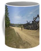 Marines Offload A Logistics Vehicle Coffee Mug