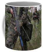 Marines Patrol The Central Training Coffee Mug