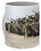 Marines Perform Maintenance On Light Coffee Mug by Stocktrek Images