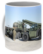 Marines Pick Up Palletized Logistics Coffee Mug