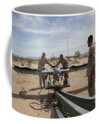 Marines Place An Rq-7 Shadow Unmanned Coffee Mug