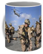 Marines Position Themselves Coffee Mug