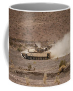 Marines Roll Through The Combat Center Coffee Mug