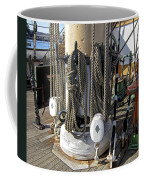 Maritime Pulley And Rope Work Coffee Mug