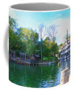 Mark Twain Riverboat At Disneyland Coffee Mug