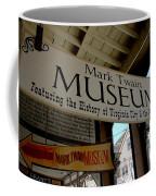 Mark Twian Museum Virginina City Nv Coffee Mug by LeeAnn McLaneGoetz McLaneGoetzStudioLLCcom