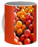 Market Tomatoes Coffee Mug by Lauri Novak