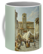 Marketday In Desanzano  Coffee Mug